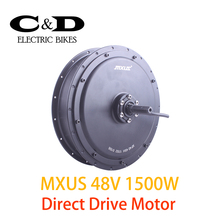 48V 1500W High Speed Brushless Hub Motor E-bike Motor Rear Wheel Drive MXUS Brand