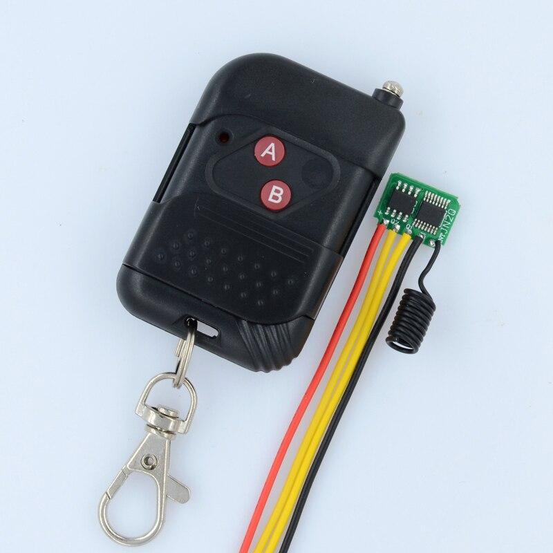 Low Power Consumption Remote Switch 3V 3.3V 3.6V 3.7V 4.2V 4.5V 5V 2channel Mos RF Wireless Switch Micro Mini Lighting Switch<br><br>Aliexpress