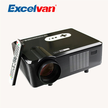 Excelvan CL720 HD 3D Proyectores LED Full HD 1080P 3000Lumens China LCD TV Beamer For Home Theater DVB-T Videoprojecteur 3D