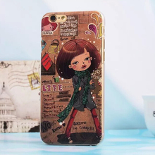 What Is The Life Love Dream Emboss Case Cover For Apple iPhone 6 Case Retro 6 Series Fashion Crazy Girl Case For Phone