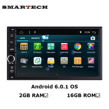 "7""Car Tap PC Tablet Android 6.0 Ram 2G 2 din Universal For Nissan Toyota GPS Navigation Radio Stereo Audio Player 2Din Headunit"