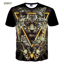 New Fashion Abstract 3D Print Black T-shirt for Women/Men Leisure Short-sleeve O-neck Fancy 3d t shirt Top Tees  S-XXL
