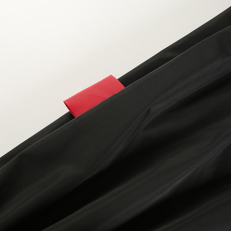 13Sweetown Plus Size Pantalon Large Femme Black Harajuku Cargo Sweat Pants Korean Style High Waist Baggy Joggers Women Sweatpants