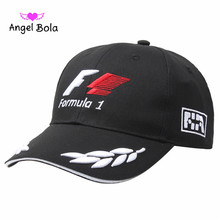 F1 hat spring and summer winter men and women outdoor sports baseball cap F1 motorcycle car cap embroidery sun shade(China)