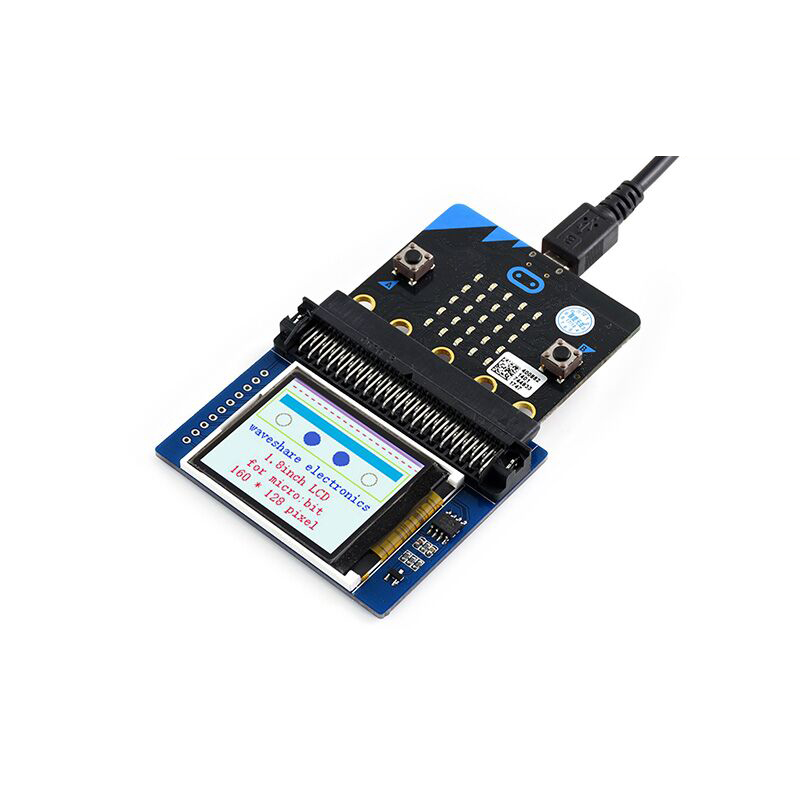 1.8inch Colorful LCD Display Screen Module 160×128 , RGB 65K colors, ST7735S Driver for BBC micro:bit microbit FZ3233