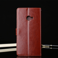 Luxury Brand Genuine Leather Case Cover for Xiaomi Mi Note 2 Case Flip Coque Card Slot Xiaomi Mi Note 2 Cover Case Wallet Flip(China)