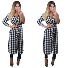Bamboo 2017 Best Selling Autumn Branded Full Sleeve Turn Down Collar Long Sashes Shirt Dress For LadiesFC074(China)