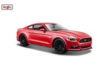 Maisto 1:24 2015 Ford Mustang GT 5.0 Classic Modern Muscle Diecast Model Car Toy New In Box Free Shipping