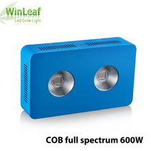 600W cob led full spectrum grow light Red/Blue/White/UV/IR For hydroponics and indoor medical flower veg seed Tent grow light(China)