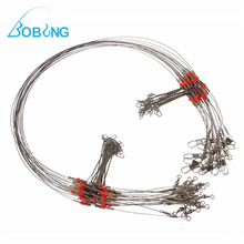 Wire Trace Leader Rig 2 Arm Fishing Lure Bait Swivel Ring Stainless Steel Fishing Tackle Box Accessories Tool Fishing Connector(China)