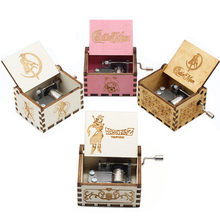 28 Style Music Box Game Thrones Star Wars Sailor Moon Godfather Wooden Hand Cranked Theme Music Birthday Gifts