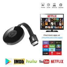 TV Stick voor Netflix YouTube Chrome Gegoten voor Android tv Miracast cromecast HDMI Display Dongle vs Mirascreen anycast(China)