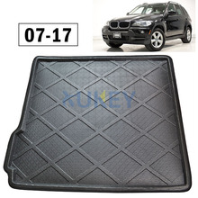 For BMW X5 E70 F15 2007-2017 5-Seats Rear Trunk Mat Cargo Tray Boot Liner Floor Carpet 2008 2009 2010 2011 2012 2013 2014 2015(China)