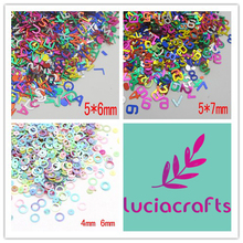 Lucia Crafts 20g(approx 4000pcs) Mixed Cute Circle Froth Sequin For Crafts&Paillette Sewing Scrapbooking lentejuelas 043007013(China)