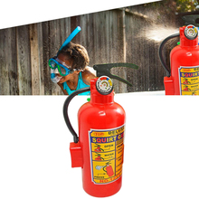 Plastic Water Squirt Gun Fire Control Extinguisher Creative Toy For Children