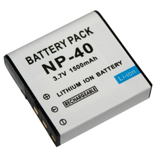 1500mAh NP-40 CNP40 Battery Digital Camera Batteries for Casio EX-Z30/Z40/Z50/Z55/Z57/Z750 EX-P505/P600/P700 PM200 Spare Battery