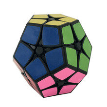 Shengshou Magic cube Speed Puzzle 2x2 Megaminx Speed Cube Dodecahedron  Brain Teaser Kids Toy White And Black Toys for Children