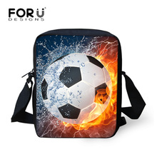 hot sale 2016 foot ball boys school bags for student cool sac a dos 2016 children schoolbag small women book bag kids mochila(China)