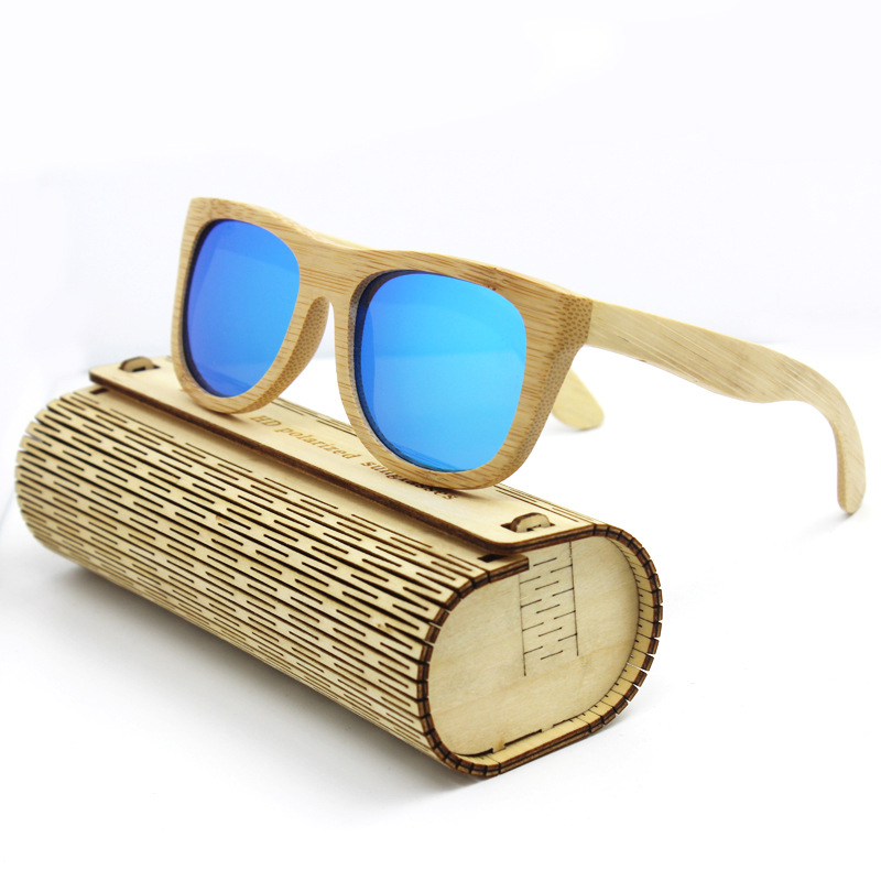 Top Quality Polarized Wood Mens Sunglasses Women Brand Designer Wooden Frame Male Bamboo Sunglass Mens Ladies Sun Glasses 2016<br><br>Aliexpress