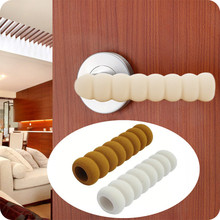 Cylindrical Helical Door Knob Cover Collision Avoidance Cover Protect Kids Children Prevent Collision Harm(China)