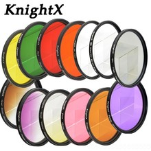 Buy KnightX 24 color nd uv star filter nikon canon sony a65 lens 6d lenzen lente dslr kit 24-70 obiektyw 52mm 58mm 67mm 77mm for $2.52 in AliExpress store