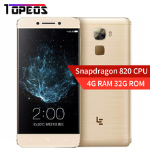 "LeTV LeEco Le Pro 3 Elite X722 Smartphone 4GB RAM 32GB ROM Quad Core Android 6.0 Snapdragon 820 5.5"" FHD 4G 16MP Mobile Phone"