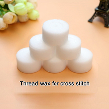 Cross stitch thread wax accessories tool imported water-soluble lubricant DIY embroidery needlework free shipping 5pcs/pack(China)
