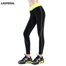 LASPERAL Women Sports Legging Pants Running Jogging Elastic Waist Stretched Slimming Pencil Pants Women Fitness Yoga Tights Pant