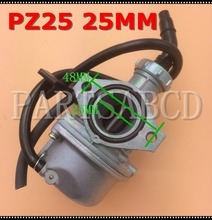 25MM PZ25 CARBURETOR HAND CHOKE FOR 110CC 125CC QUAD ATV DIRT BIKE