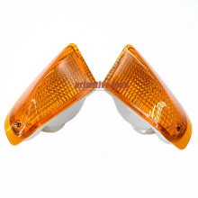 For KAWASAKI ZZR 400 ZZR600 ZZR400 ZZR 600 ZX600E 1990-1992 Motorcycle Rear Turn signal Blinker Lens Amber