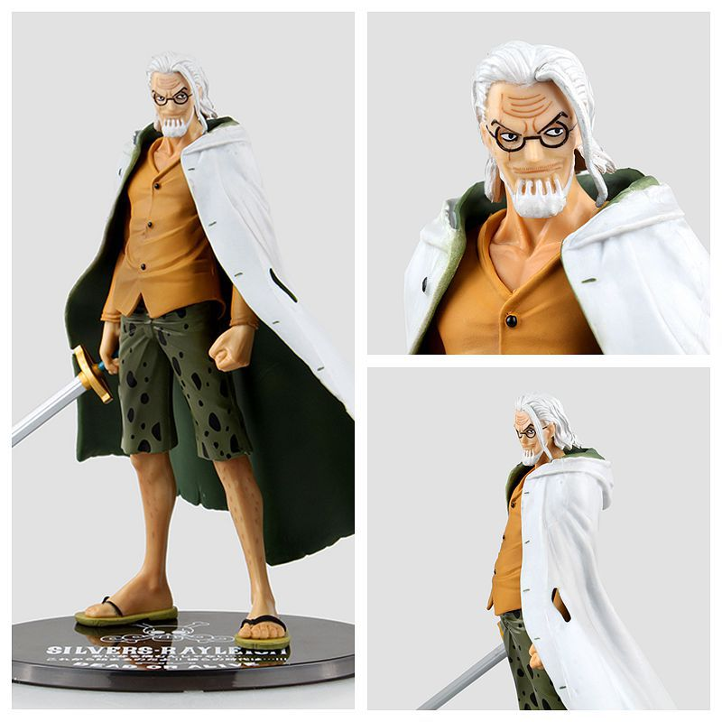One Piece Figure Silvers Rayleigh Gol D Roger Monkey D Luffy Figure Figuarts Zero 17CM PVC Action Figure Heroes Model<br><br>Aliexpress
