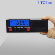 Electronic Digital LCD 360 Degree Inclinometer Angle gauge Protractor level Box Meter with Magnetic Base Automatic Power-off