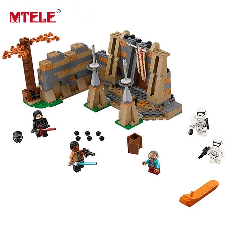 MTELE 438 Pcs Star Wars Battle On Takodana Kit Figures Blocks Bricks Figures Toy Compatible With Lego And Lepin 05009<br>