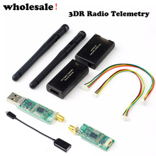 wholesale 1pc 3DR Radio Telemetry Kit 433MHZ 915MHZ Module Open source for APM 2.5 2.6 2.8 Discount