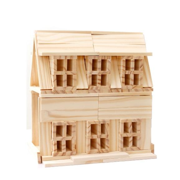 Chanycore Baby Learning Educational Wooden Toys Blocks Jenga Domino 102pcs mwz Geometric Shape Montessori Kids Gifts 4149<br>