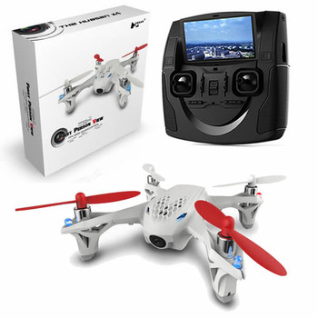 Original Hubsan H107D FPV X4 5.8G 4CH 6 Axis RC Aircraft Quadcopter With HD Camera Transmitter RTF Mode 2