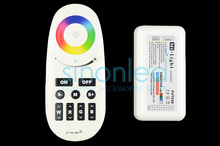 RGBW Controller 2.4G Mi light LED touch Remote control Dimmer 12-24V 24A for SMD 5050 RGBW/RGBWW 4 in 1  led strip light