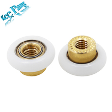 5pcs/lot K800 Pulleys Part 5mm Small Rollers Copper Scroll Wheels Diameter 19mm 3D Printers Parts Brass Accessories(China)