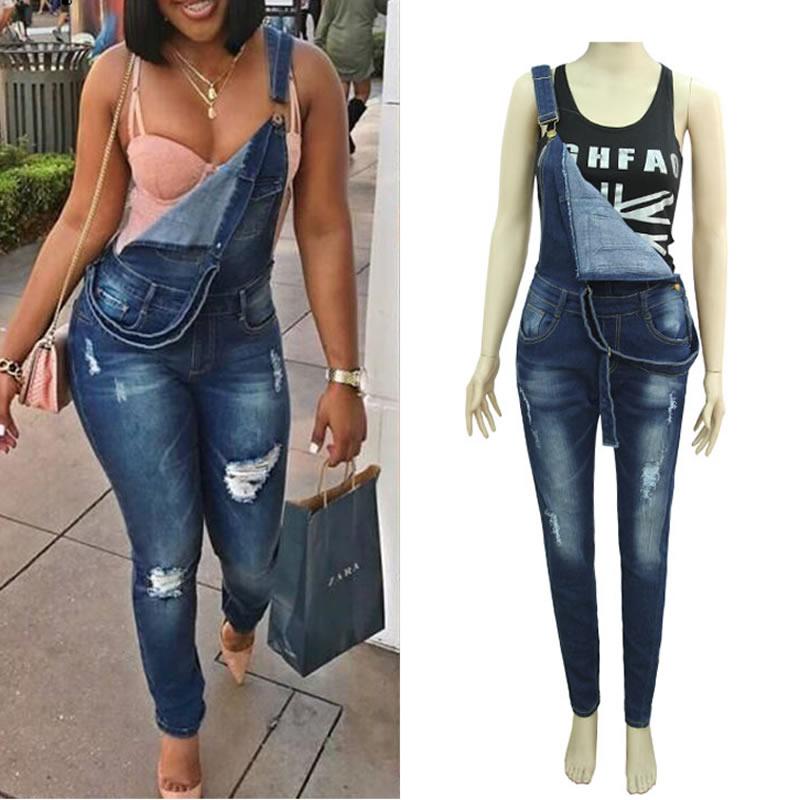 xxl xl Denim Women Suspender Trousers Vintage washed blue calcas feminina jeans boyfriend jeans for women spijkerbroek  femmeОдежда и ак�е��уары<br><br><br>Aliexpress