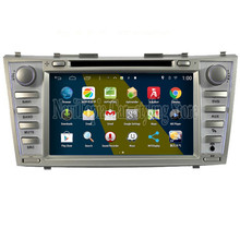 NaviTopia Brand New 8inch Quad Core 1024*600 16G Android Car PC for Toyota Camry Car DVD Multimedia Player(China)