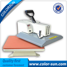 Cheap manual swing away heat press machine for flatbed print 38*38cm(China)