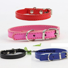 Top sale 1.0mm pet dog collars for small dogs,mixed colors pet collars,free shipping dhl/fedex(China)