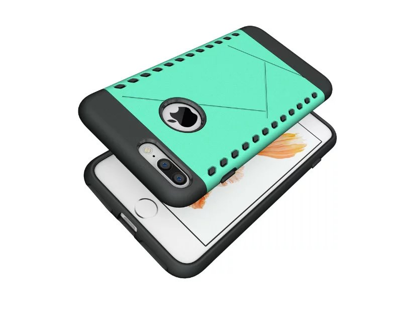 Luxury 2 in 1 Hybird Cases Brand New Matte Back Cover for Apple iPhone 7 Case iPhone7 plus Case Mobile Phone Accessories Cases