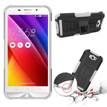 For Asus Zenfone Max ZC550KL Standing Phone case TPU+PC Armor Back cover Phone case Cell protector For Zenfone Max ZC550KL case(China)