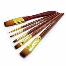Eval 6pcs Waterbrush Artist Paint Brush Set Art Supplies Oil Painting Brush Acrylic Brush Set for Students Kids Paint Brush(China)