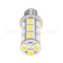 Free Shipment !!! 20pcs/lot 3W  E12 LED Corn Bulb 12VDC  SMD 5050 White Warm White Commercial Engineering Indoor Professional