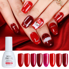 Buy BORN PRETTY Red Glitter Sparkle Gel Nail Polish Bling Shining Soak Manicure Nail Art UV Gel Polish Varnish Lacquer 10ml for $1.42 in AliExpress store