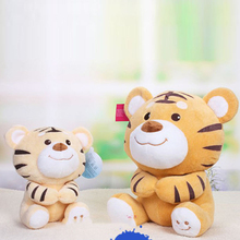 Large Tiger Stuffed Animal Tiger Pluche Stuffe Speelgoed Valentine Gift Girlfriend Kawaii Plush Toy Giant Tiger Plush Toy 80C344