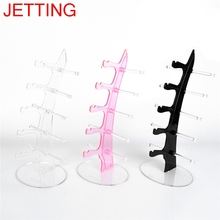 Sunglasses Glasses Show Rack Counter Display Stand Holder 5 Layers 16x16x31.5cm(China)