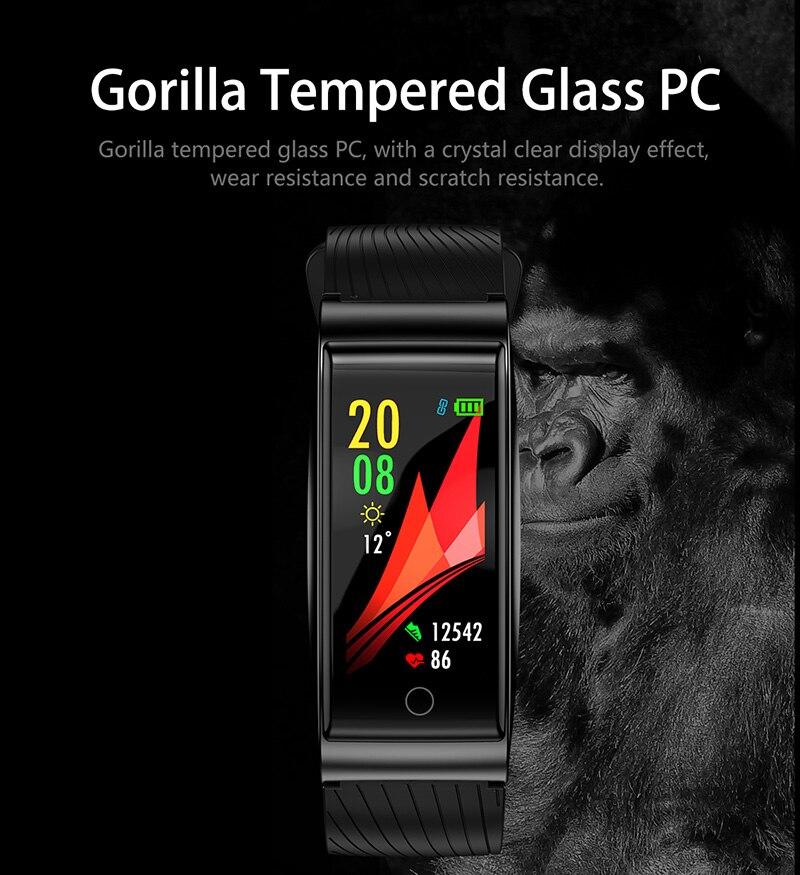 VERYFiTEK F4 Metal Smart Band Wristband Blood Pressure Heart Rate Monitor Men Women Fitness Watch Pedometer Smart Bracelet (10)